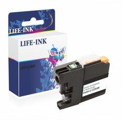 Life-Ink Druckerpatrone ersetzt LC-123BK, LC-123 BK für...