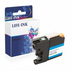 Life-Ink Druckerpatrone ersetzt LC-121C, LC-123C für...