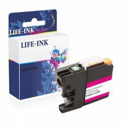 Life-Ink Druckerpatrone ersetzt LC-121M, LC-123M für...