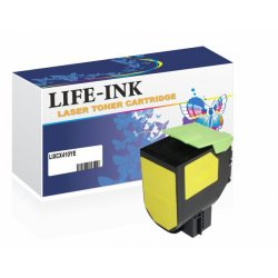 Life-Ink Toner ersetzt 800H4, 802HY für Lexmark Drucker...