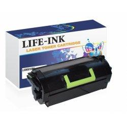 Life-Ink Toner ersetzt 522H, 520HA für Lexmark Drucker...