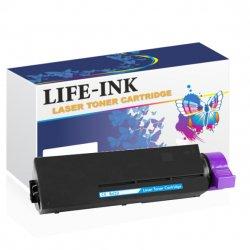 Life-Ink Toner LIOK432BK-12K (ersetzt 45807111, 45807106,...