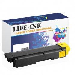 Life-Ink Toner ersetzt TK-5140Y für Kyocera gelb