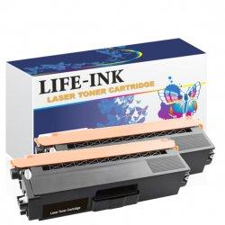 Life-Ink Toner 2er Set ersetzt TN-421BK / TN-423BK für...