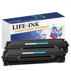 2er Set Life-Ink XXL Tonerkartuschen 2000 Seiten...