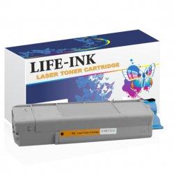 Life-Ink Toner ersetzt OKI 46507508, C612 für Oki Drucker...