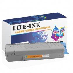 Life-Ink Toner ersetzt OKI 46490607, C532 für Oki Drucker...