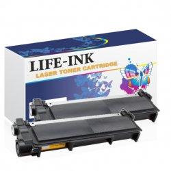 Life-Ink Toner 2er Set ersetzt TN-2420 für Brother...