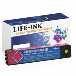 Life-Ink Druckerpatrone ersetzt HP F6T78AE, 913A magenta