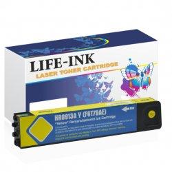 Life-Ink Druckerpatrone ersetzt HP F6T79AE, 913A gelb