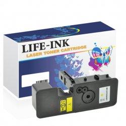 Life-Ink Toner ersetzt Kyocera TK-5230Y, 1T02R9ANL0 für...