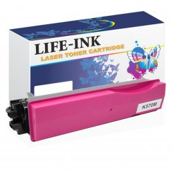 Life-Ink Toner ersetzt Kyocera TK-570M, 1T02HGBEU0 für...