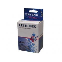 Life-Ink Druckerpatrone ersetzt C6656AE, 56 für HP...