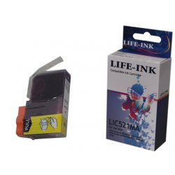 Life-Ink Druckerpatrone ersetzt CLI-521M für Canon...