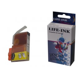 Life-Ink Druckerpatrone ersetzt CLI-521Y für Canon...