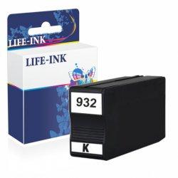 Life-Ink Druckerpatrone ersetzt CN057AE, 932 XL für HP...